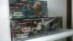 Boxed Rancor & B-Wing