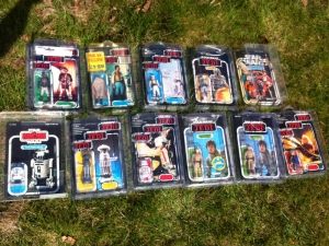 Recovered carded figures