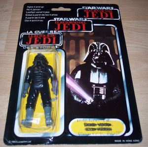 TIE Pilot Vader Miscard
