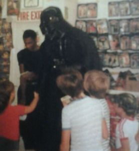 Vader store appearance Nuxley Toys in Gravesend, Kent.