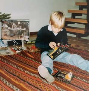 Jan Gellar Christmas 1984 Germany
