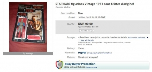 €90 Madine eBay Auction