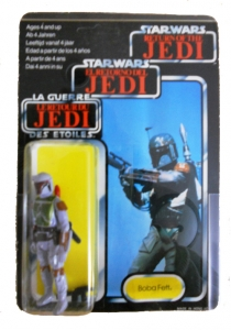 Unpunched Boba Fett in amazing condition!